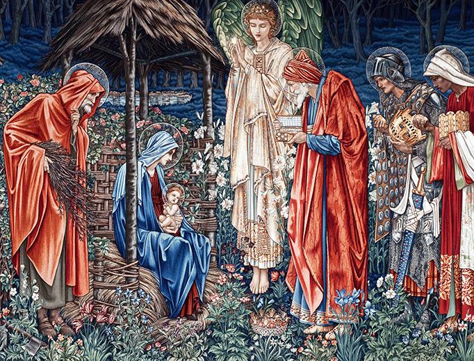 "Edward Burne-Jones, ""The Adoration of the Magi,"" 1904"