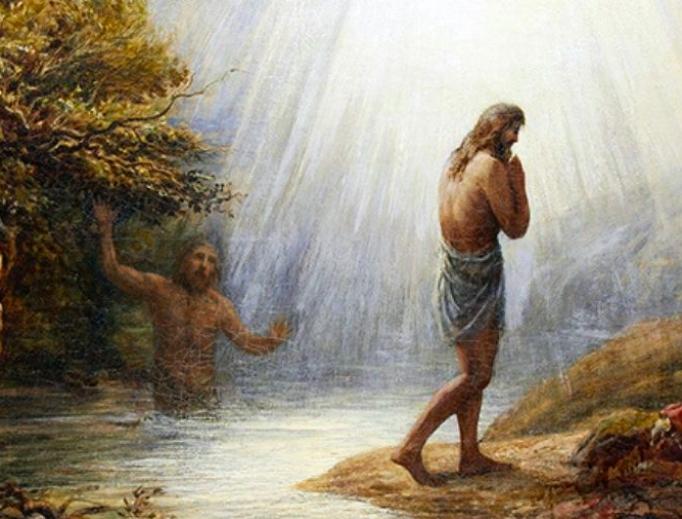 John Linnell (1792-1882), Saint John the Baptist