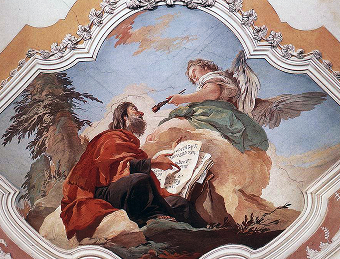 "Giovanni Battista Tiepolo, ""The Prophet Isaiah"", between 1726 and 1729"