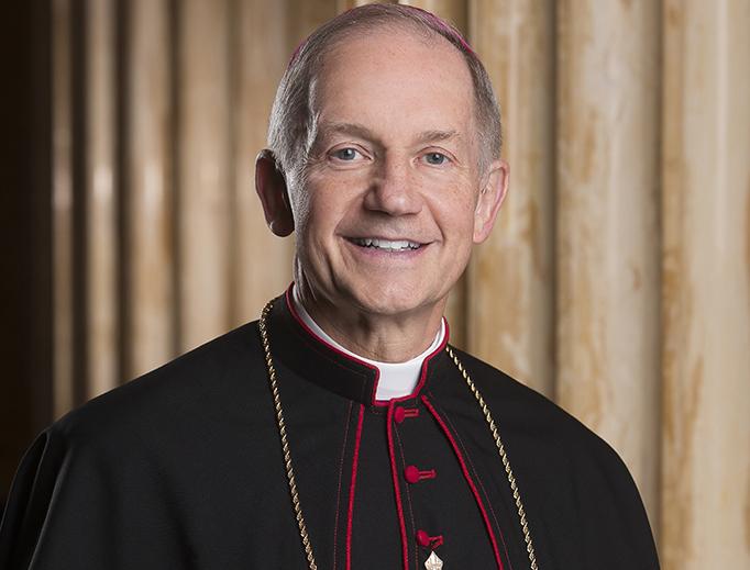 Bishop Thomas Paprocki of Springfield, Illinois