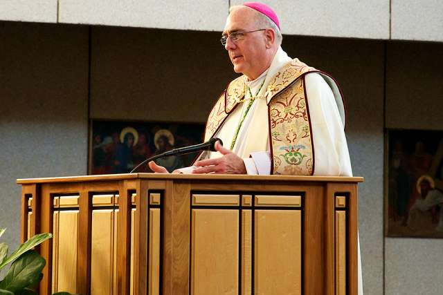 Archbishop Joseph Naumann of Kansas City, Kansas, was elected chair of the U.S. Bishops' Committee on Pro-Life Activities Nov. 14.