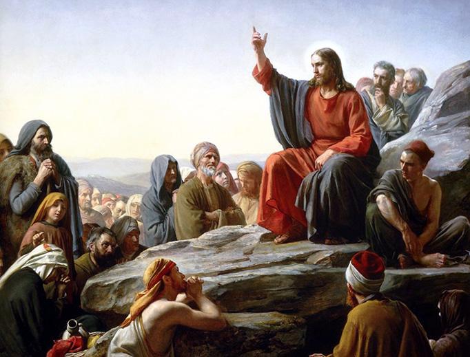 "Carl Bloch, ""The Sermon on the Mount"", 1877"