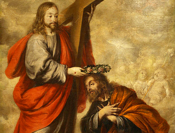 """Juan de Valdés Leal (1622–1690), """"Coronation of St. Joseph"""""""