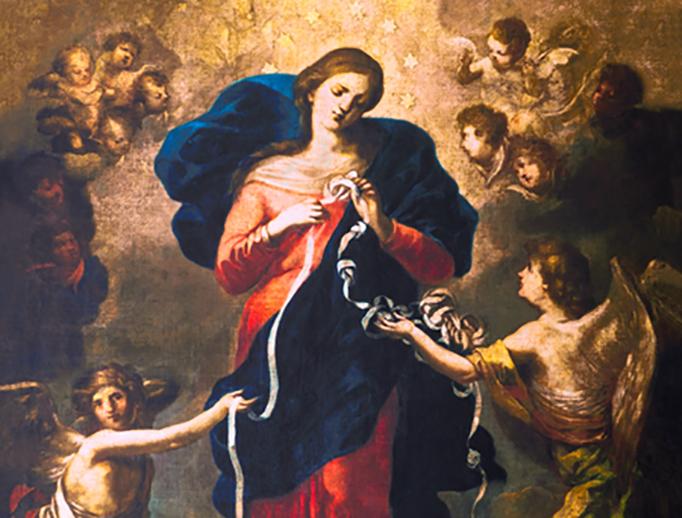 "Johann Georg Melchior Schmidtner (1625-1705), ""Our Lady Undoer of Knots"""