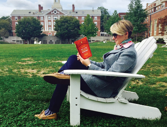 FAITH AND FRIENDSHIP. Students can find a sense of Catholic community and friendship on Harvard University's campus and elsewhere, says author and recent Harvard graduate Aurora Griffin.