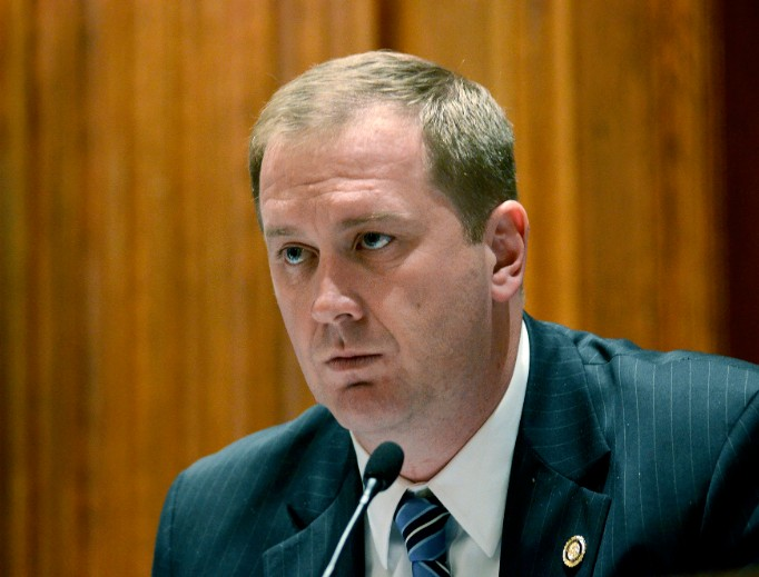 Missouri Attorney General Eric Schmitt, shown above as a state senator in 2013, released a report Sept. 13 following a 13-month investigation of sexual abuse within the Catholic Church. The report referred 12 priests for potential criminal prosecution.