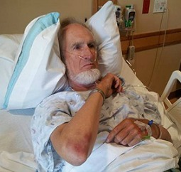 Everett Stadig recuperating in hospital