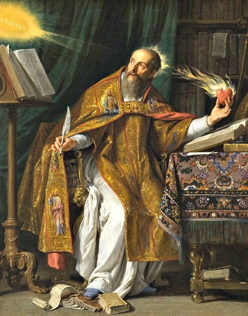 St. Augustine (portrait by Philippe de Champaigne, 17th century) wrote at length about the common good in his fifth-century work, City of God.