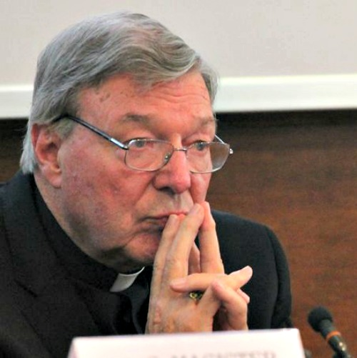 Cardinal George Pell, prefect of the Secretariat for the Economy