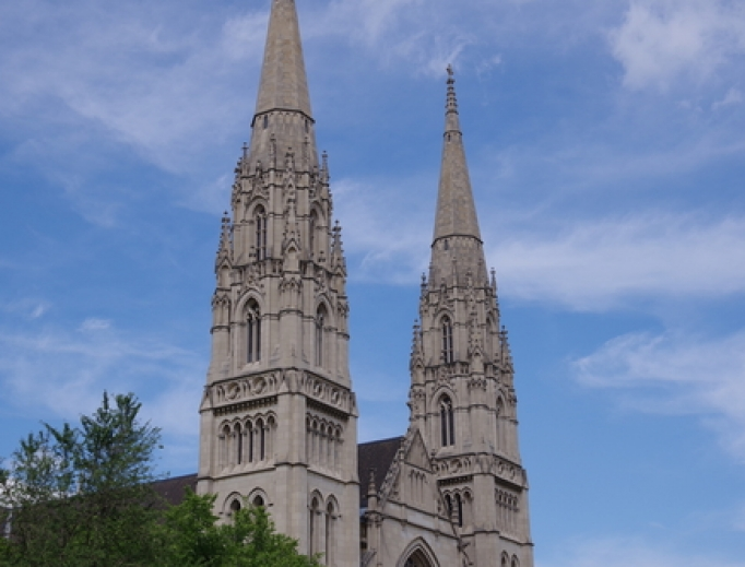 St. Paul Cathedral in Pittsburgh.