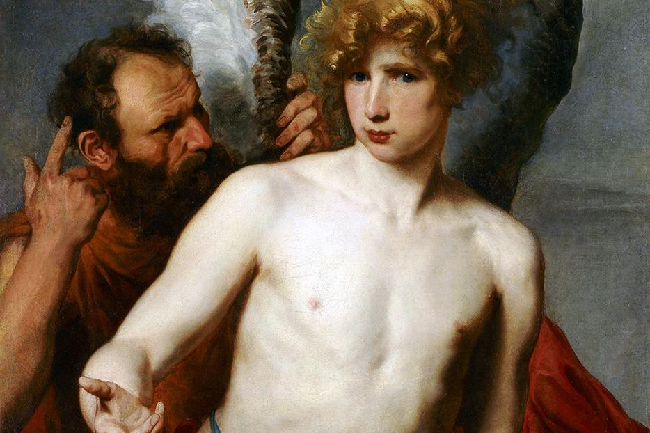 """Anthony van Dyck (1599-1641), """"Daedalus and Icarus"""""""