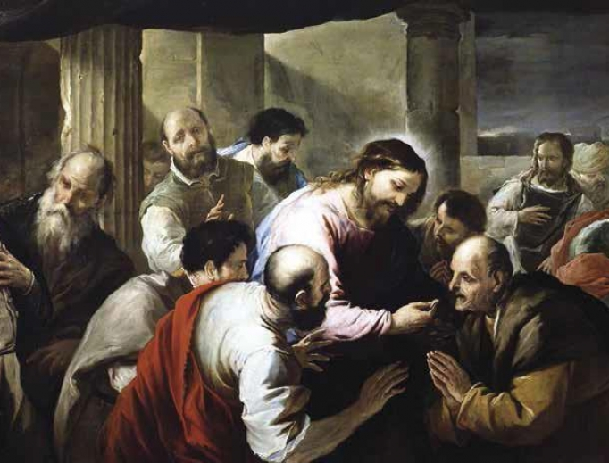 LUCA GIORDANO, THE COMMUNION OF THE APOSTLES, BEFORE 1705