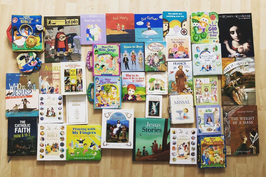 Library of Catholic books for children