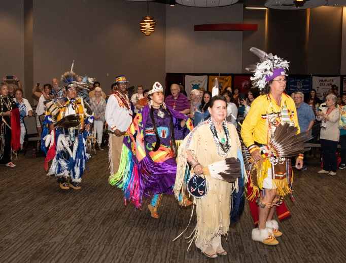 The Tekakwitha Conference, which celebrates the faith and native culture, discussed new canonization causes at its July meeting, where Philadelphia Archbishop Charles Chaput celebrated Mass; as a member of the Prairie Band Potawatomi Nation, Archbishop Chaput was the second Native American to be ordained a bishop in the United States — and the first Native American archbishop.