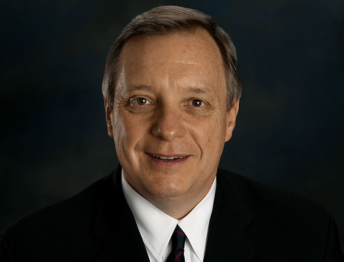 U.S. Senator Richard Durbin of Illinois