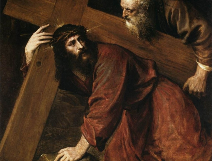 """Titian, """"Christ Carrying the Cross"""""""