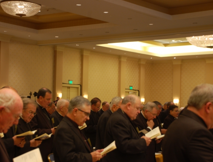Bishops from across the United States take part in the 2013 Fall General Assembly in Baltimore.