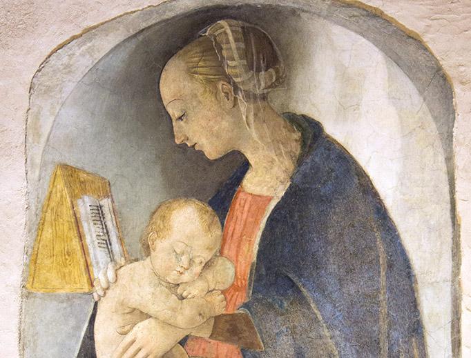 'The Virgin Mary Reading', Birthplace of Raphael, Urbino, Marche, Italia