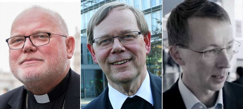 Cardinal Reinhard Marx, president of the German bishops' conference, Jesuit Father Hans Langendörfer, the episcopal conference's general secretary, and conference spokesman Matthias Kopp are leading the opposition to the seven bishops' request for clarification.
