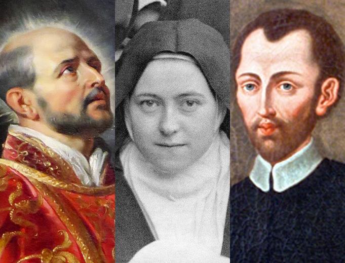 Three saints who famously battled scruples: St. Ignatius of Loyola, St. Thérèse of Lisieux and St. Alphonsus of Liguori