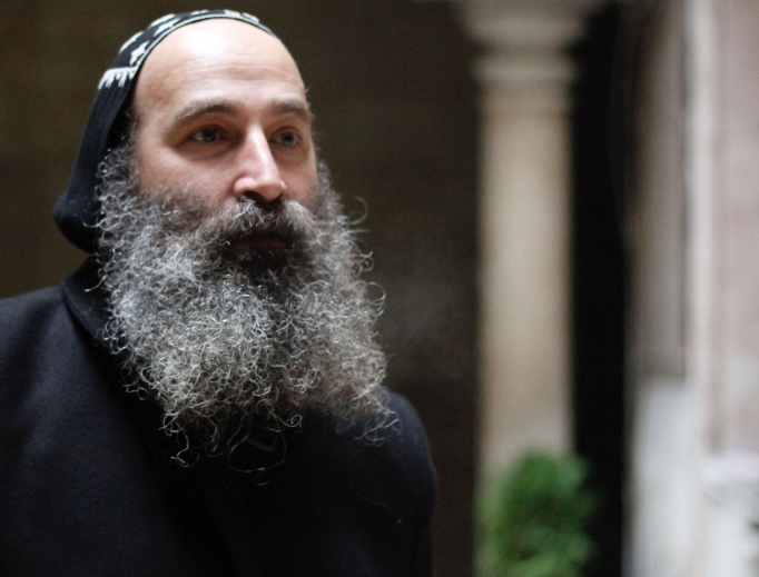 Monsignor Boutros Kassis, Syriac Orthodox Archbishop of Aleppo.