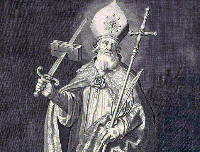 "Cornelis Bloemaert, ""Saint Boniface,"" c. 1630"