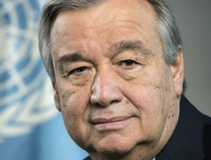 United Nations Secretary General António Guterres