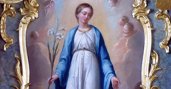 For more than 150 years, the Virgin Mary, the Immaculate Conception, has been the official patroness of the United States.