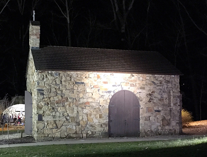 The Portiuncula Chapel is the site of perpetual adoration during the school year at Franciscan University of Steubenville