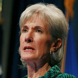 Health and Human Services Secretary Kathleen Sebelius speaks during a news conference on Nov. 14 in Washington.