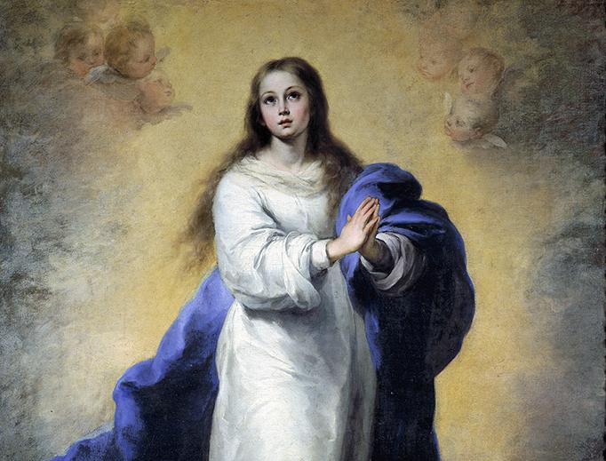 """Bartolomé Esteban Murillo (1617-1682), """"Inmaculada del Escorial"""""""
