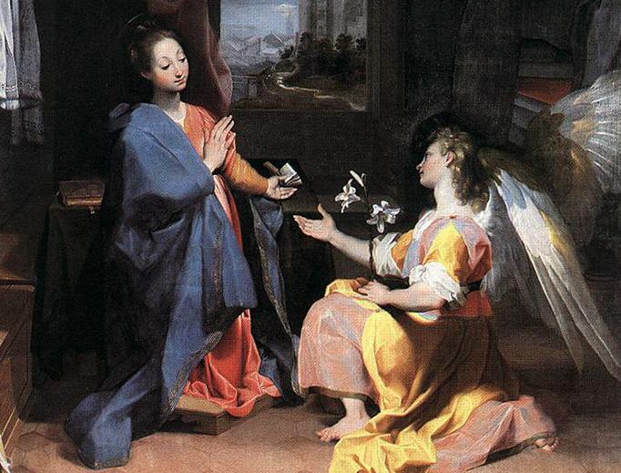 "Federico Barocci (1535–1612), ""The Annunciation"""