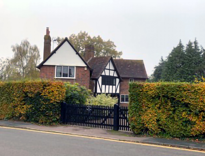 G.K. Chesteron's home Overroads is seen in Beaconsfield, England.