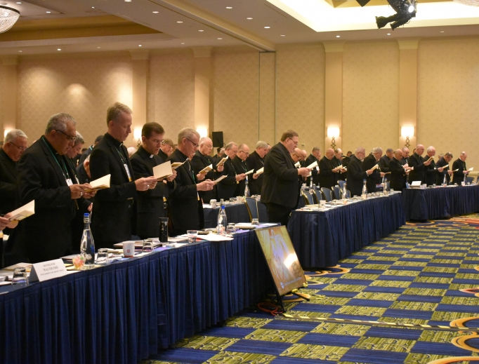 The U.S. bishops gathered this week in Baltimore for their annual fall meeting.