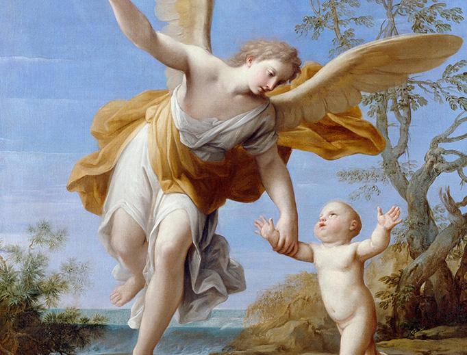 "Marcantonio Franceschini, ""The Guardian Angel,"" 1716"