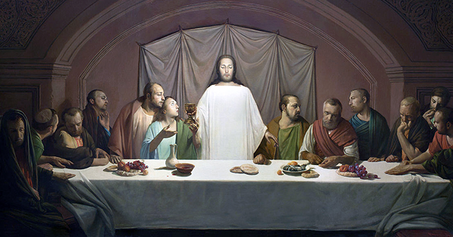 """Andrei Mironov, """"The Last Supper"""", 2009 (CC BY-SA 4.0, via Wikimedia Commons)"""
