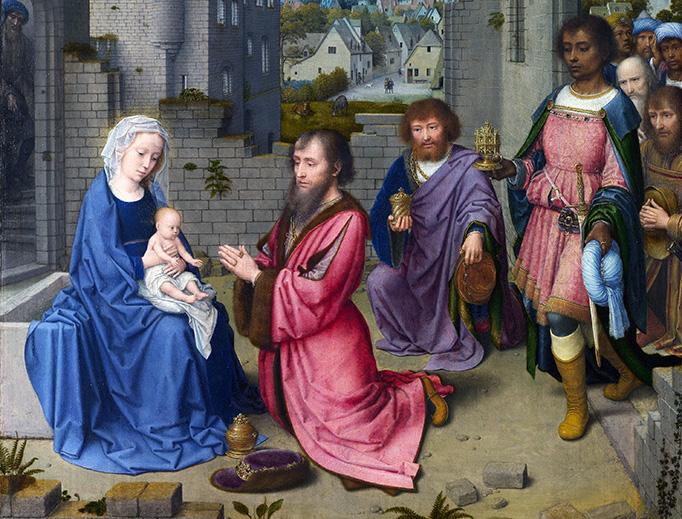 "Gerard David (circa 1450/1460–1523), ""The Adoration of the Magi"""