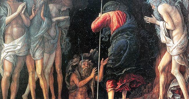 """Andrea Mantegna (1431-1506), """"Christ's Descent Into Limbo"""""""