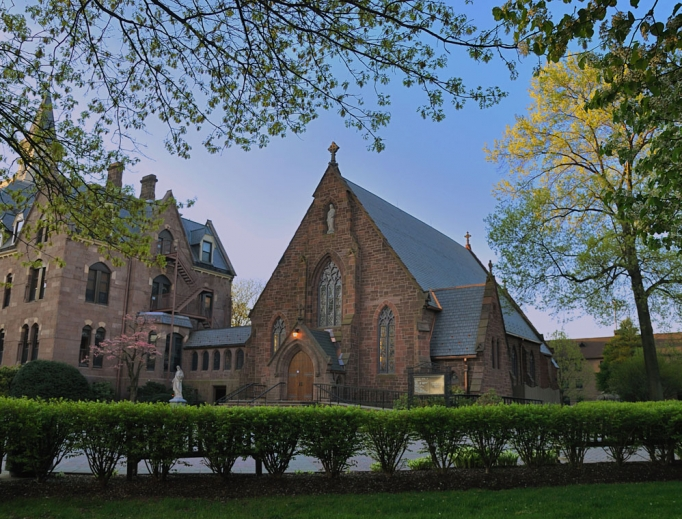 An independent review of Immaculate Conception Seminary, shown above, at Seton Hall University has been conducted, but questions remain about the findings.