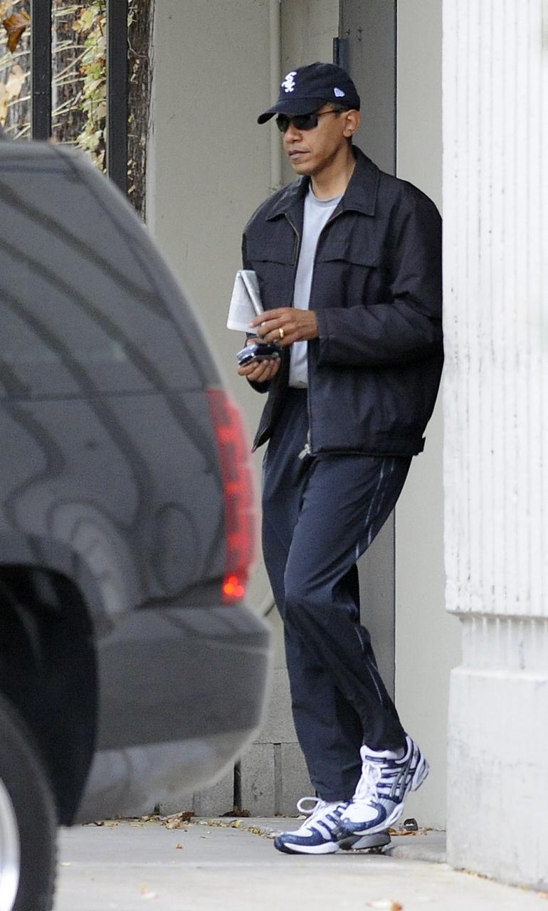 Obama leaves Nov. 16 workout.