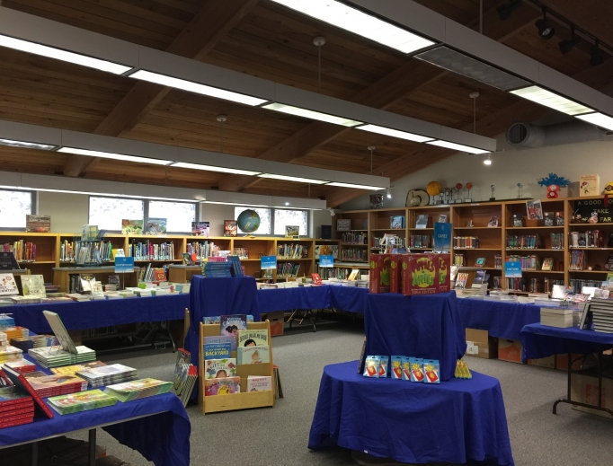 A Florida at-school book fair showcases quality offerings.