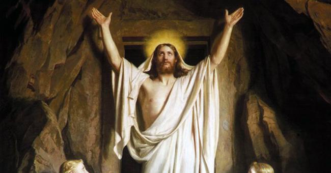 """Carl Heinrich Bloch, """"The Resurrection,"""" 1881"""