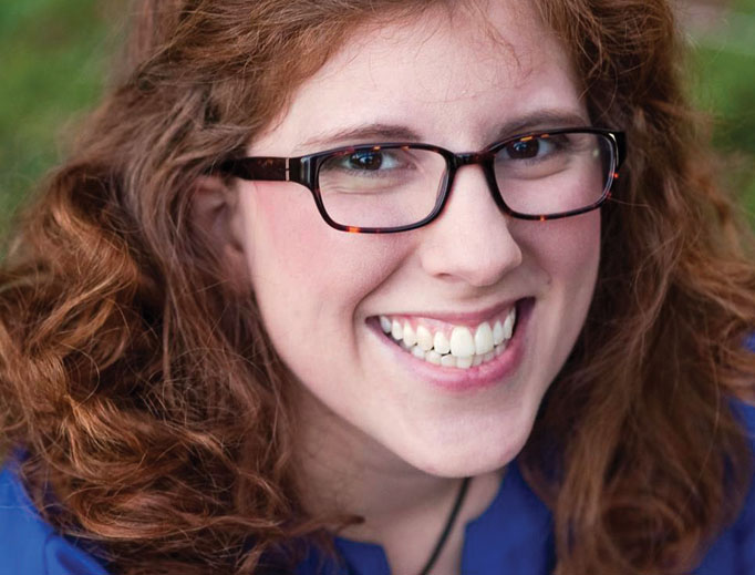 Katie Prejean McGrady, who attended the pre-synod gathering last March, is a wife and mother who is committed to sharing the faith as a youth speaker.