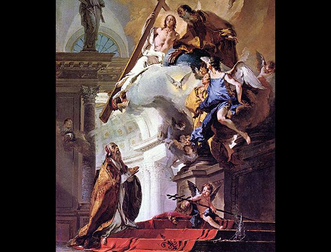 "Giovanni Battista Tiepolo, ""Vision of St. Clement"", ca. 1730-1735"