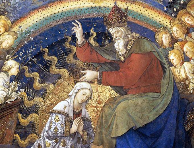 "Filippo Lippi, ""Coronation of the Virgin,"" c. 1468"