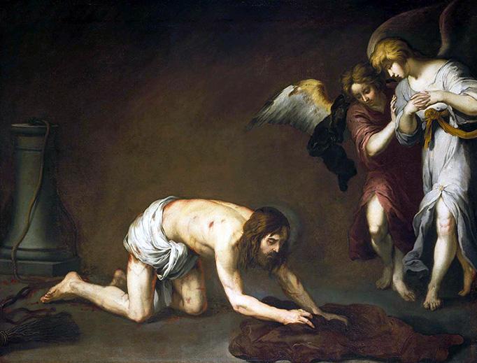 "Bartolomé Esteban Murillo (1617-1682), ""Christ after the Flagellation"""