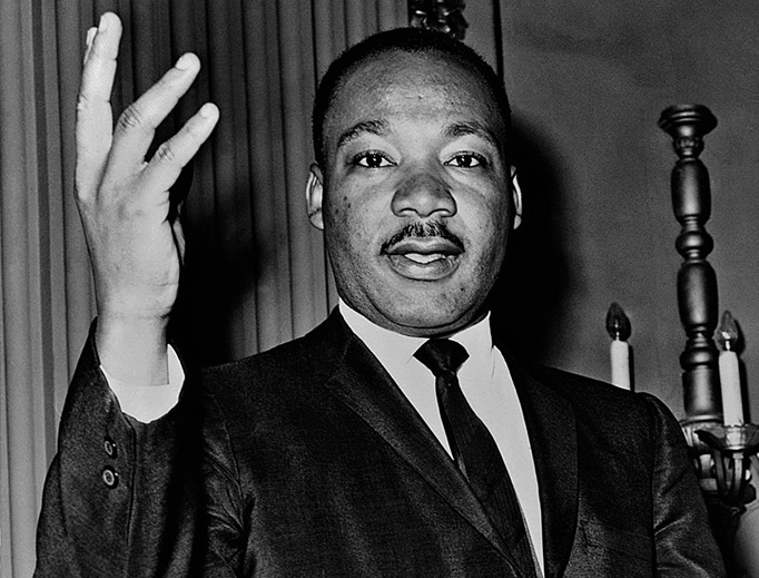 Martin Luther King, Jr., in 1964
