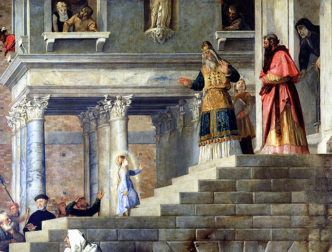 "Puto (1490–1576), ""The Presentation of the Virgin Mary in the Temple of Jerusalem"""