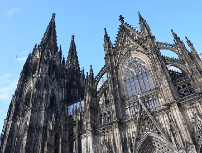 Cathedral in Cologne.