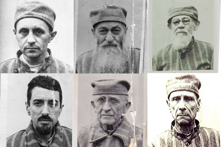 Six of the seven martyred bishops who will be beatified in Blaj, Romania, June 2 are pictured above.